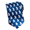 Disney Silk Tie - Mickey Mouse - Silhouette Blue & White