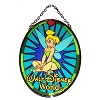 Disney Stained Glass Sun Catcher - Tinker Bell - Medium