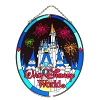 Disney Stained Glass Sun Catcher - Cinderella Castle - Large