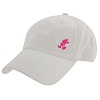Disney Hat - Baseball Cap - White with Small Pink Mickey Mouse