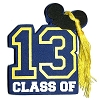 Disney Antenna Topper - 2013 Graduation - Class of 2013