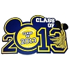 Disney Photo Frame Magnet - Class of 2013