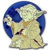 Disney Pin - Star Wars Weekends 2013  Jedi Master Yoda Spinner