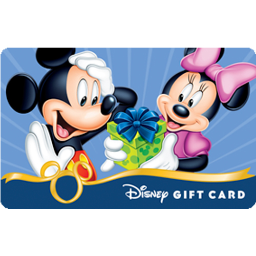 Disney Collectible Gift Card