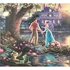 Disney Canvas Gallery Wrap - Thomas Kinkade - 14 X 14 - Princess and the Frog