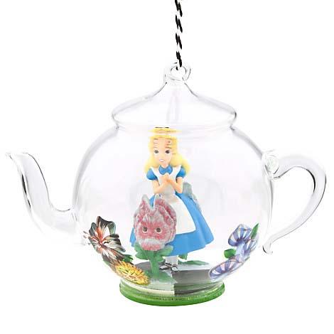 Disney Christmas Ornament - Alice in Wonderland Teapot