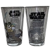 Disney Tumbler Glass - Star Wars Weekends - 2013 - Mickey Skywalker