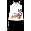 Disney Womens Shirt - Star Wars - Princess Leia Minnie Mouse Tank