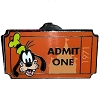 Disney Mystery Pin - Admit One Ticket Pass - Goofy