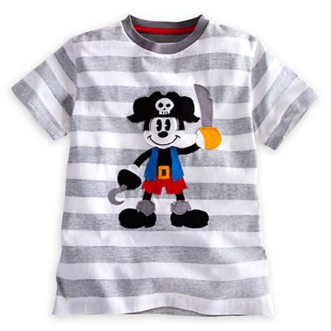 8515d84da Add to My Lists. Disney CHILD Shirt - Pirate Mickey Mouse Tee for Boys