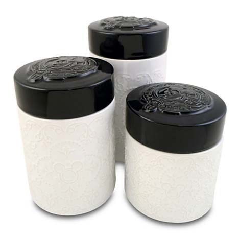 Disney Canister Set - Gourmet Mickey Mouse Kitchen Canister Set