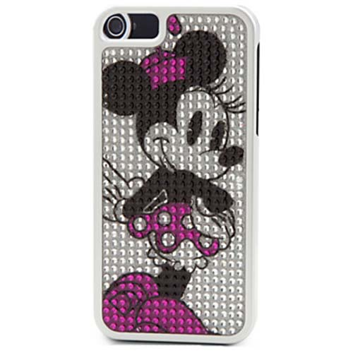innovative design f519e c91db Disney iPhone 5 Case - Minnie Mouse Profile Bling Dots