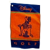 Disney Golf Towel - Goofy - Orange & Blue - Posing Goofy