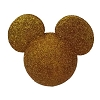 Disney Antenna Topper - Mickey Mouse Icon Gold Glitter