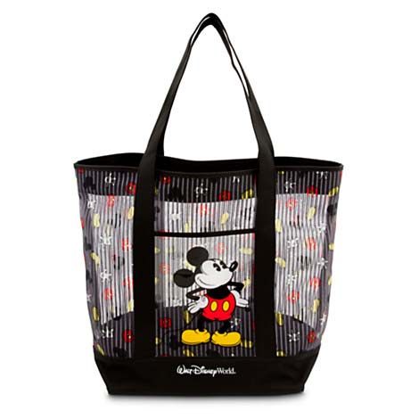 disney tote bag mickey mouse body parts mesh