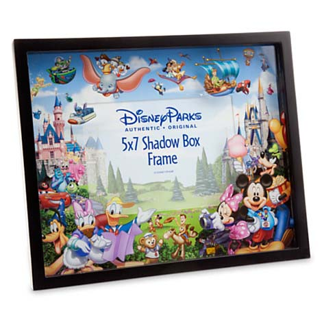 Your WDW Store - Disney Shadow Box Picture Frame - Storybook Disney ...