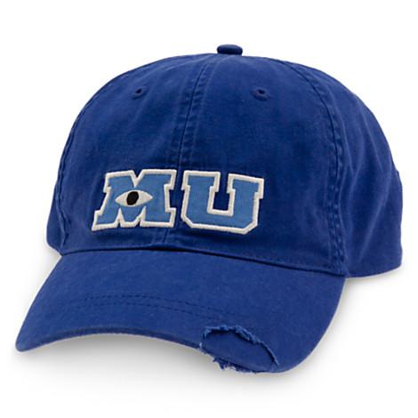 Disney Baseball Cap - Monsters University MU Logo - Blue fdafe6ccd7d