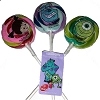 Disney Lollipops - Monsters Inc University - 3 pack Mike Sulley Boo