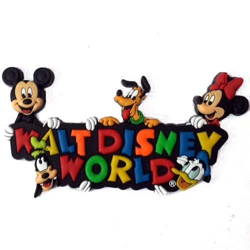 Disney Magnet Walt Disney World Fab Five Logo