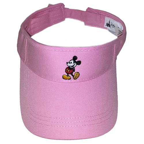 d32449c2195 Add to My Lists. Disney Sun Visor Hat - Standing Mickey Mouse - Pink