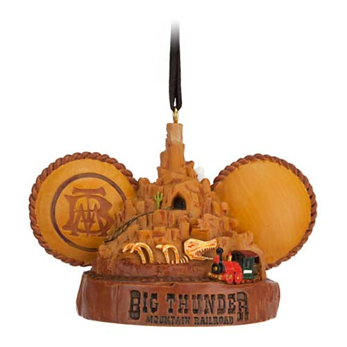 Disney Ear Hat Ornament NWT. Attractions Big Thunder Mountain