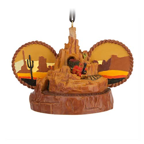 Disney Ear Hat Ornament - Attractions Big Thunder Mountain
