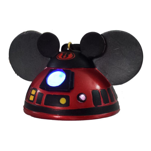 Disney Ears Ornament - R2-MK - Light Up