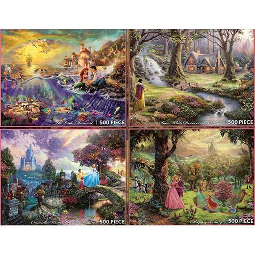 Your Wdw Store Disney Puzzle Thomas Kinkade