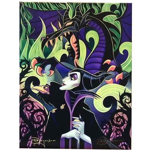 Disney Canvas Gallery Wrap Tim Rogerson Maleficent S Fury