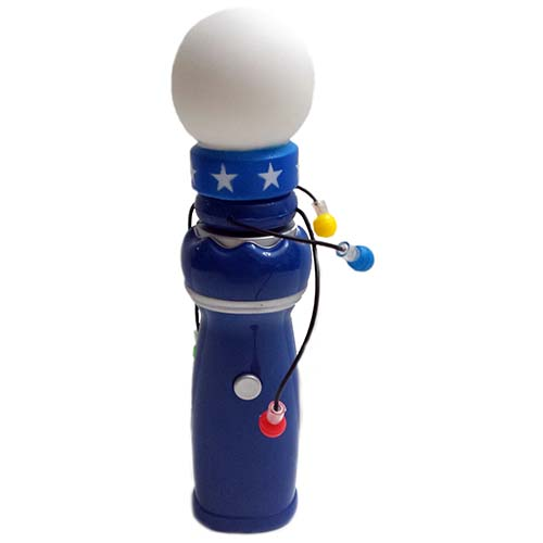 Disney Light Chaser Toy Spinning Planets Glow Blue