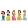 Disney Bath Toy Set - Princesses Aurora Ariel Belle Cinderella Snow