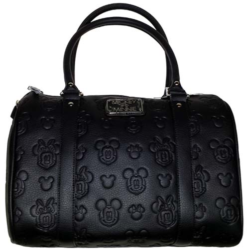 48eb5aacf32 Disney Boutique Satchel Bag - Embossed - Mickey and Minnie Mouse