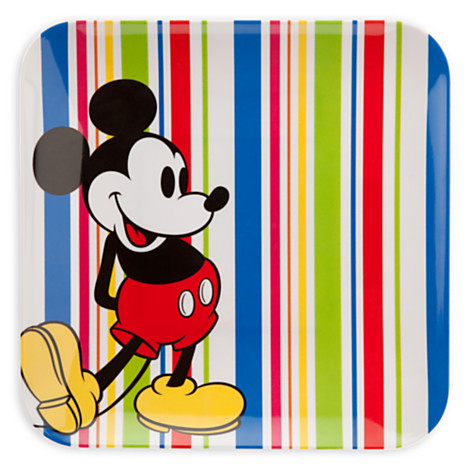 Disney Plastic Plate - Mickey Mouse Summer Fun Stripes  sc 1 st  Your WDW Store & Your WDW Store - Disney Plastic Plate - Mickey Mouse Summer Fun Stripes