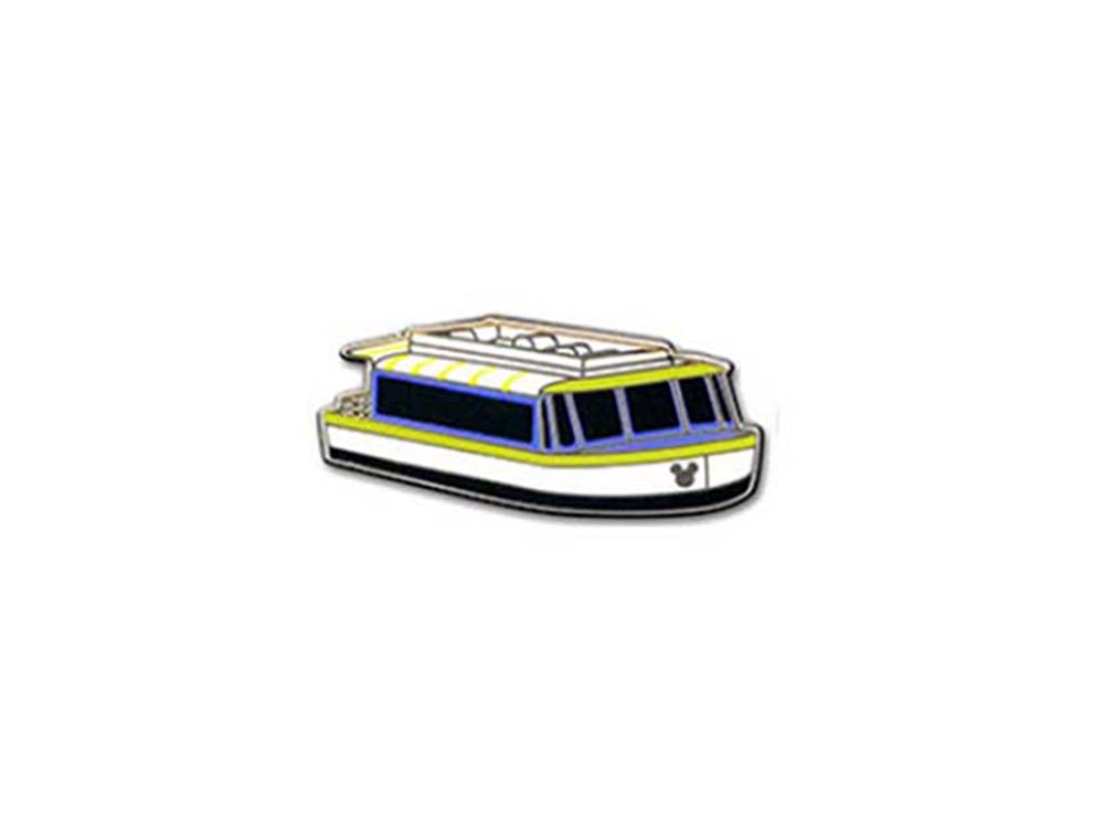 Disney Hidden Mickey Pin - 2013 Series - Friendship Boat - Friendship VIII