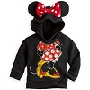 Disney Infant Hoodie - Minnie Mouse Ear Hoodie for Baby