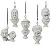 Disney Holiday Ornament Set - Haunted Mansion Singing Busts 5pc.