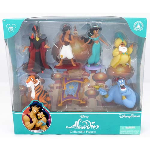 disney figurine set aladdin. Black Bedroom Furniture Sets. Home Design Ideas