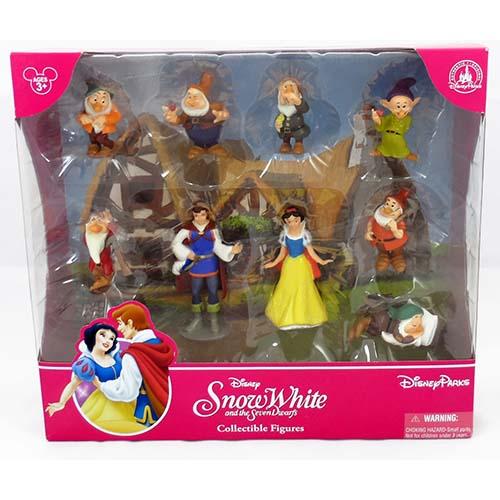 Disney Figurine Set Snow White And The Seven Dwarfs