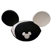 Disney Hat - Ears Hat - Black and White - Ying Yang