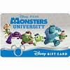 Disney Collectible Gift Card - Monsters University Scare School