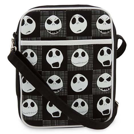 Disney Pin Trading Bag Jack Skellington Faces