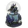 SeaWorld Snow Globe - Double Orca - Purple Kelp