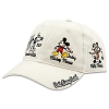 Disney Hat - Baseball Cap - Mickey Thru the Years - Tan