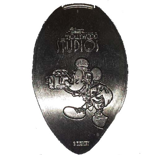 Disney Pressed Quarter - Mickey Mouse with a Video Camera