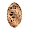 Disney Pressed Penny - Mickey Mouse Old Time Movie Camera