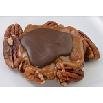Disney Snack Foods - Werther's Caramel Cluster Milk Chocolate Pecan