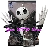Disney Hanging Door Decoration - 6 Foot Jack Skellington