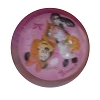 Disney Bouncy Ball - Glitter-Filled Water-Ball - Trick or Treat Minnie Light Up