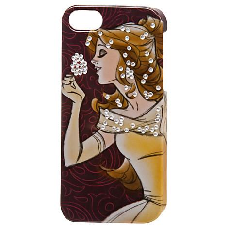 new product b5bae e3cbe Disney iPhone 5 Case - New Fantasyland - Belle - Jeweled