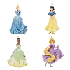 Disney Christmas Ornament Set - Rapunzel Tiana Snow White Cinderella